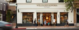 Williams Sonoma storefront