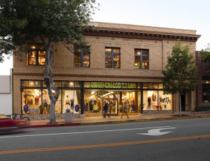 Urban Outfitter storefront