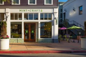 Mint+Craft restaurant facade and patio